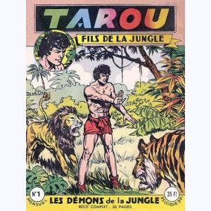 Tarou : n° 1, Les démons de la jungle