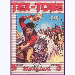 Tex Tone : n° 8, Les pillards indiens