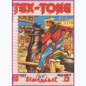 Tex Tone : n° 10, Le complot du Hold-up
