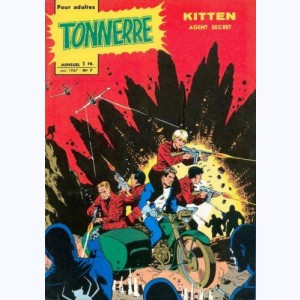 Tonnerre : n° 7, Kitten agent secret