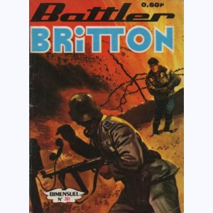 Battler Britton : n° 261, La route de Birmanie