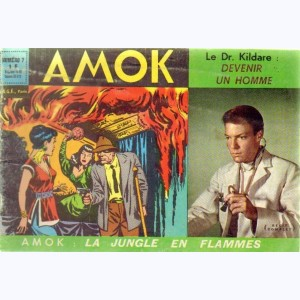 Amok : n° 7, La jungle en flammes