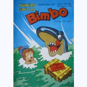 Bimbo (3ème Série) : n° 7, Sammy au Far-West