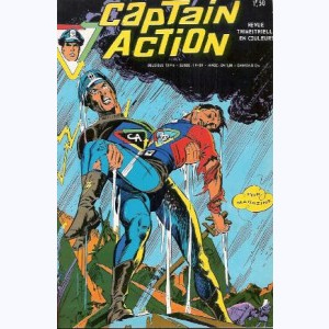 Captain Action : n° 3, La terrible expérience du Dr Tracy
