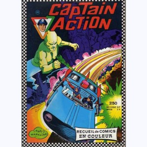 Captain Action (Album) : n° 48, Recueil 48 (01, 02, 03)