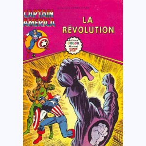 Captain América : n° 8, La révolution