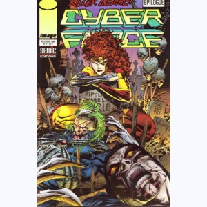 Cyberforce : n° 2, Killer instinct 4