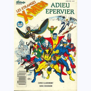 Les Etranges X-Men : n° 17, Adieu Epervier