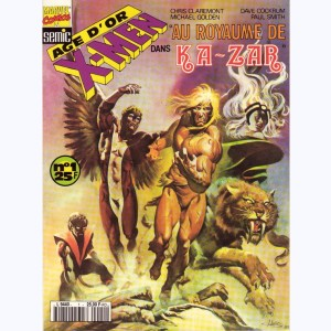 Les Etranges X-Men (HS) : n° 4, --idem-- (Age d'or n° 1)