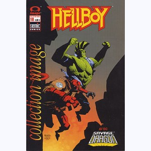 Collection Image : n° 18, Hellboy / Savage Dragon