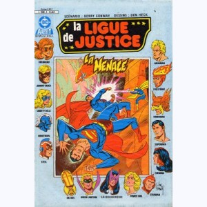 La Ligue de Justice (2ème Série) : n° 4, La menace