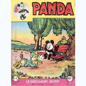 Panda : n° 16, Le document secret