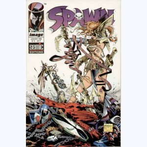 Spawn : n° 5, Angela, Croisement