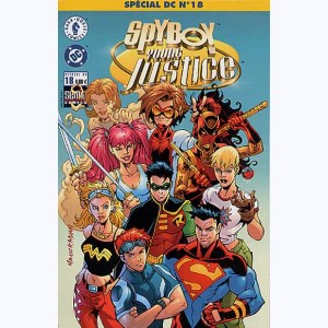 Spécial DC : n° 18, SpyBoy / Young justice