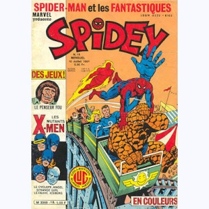 Spidey : n° 18, Spidey mène le train !