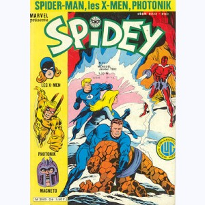 Spidey : n° 24, Les Mutants X-Men : Unus, l'intouchable !