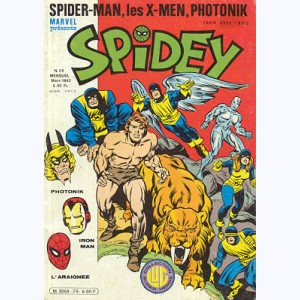 Spidey : n° 26, Les Mutants X-Men : La venue de Ka-Zar !