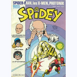 Spidey : n° 28, Les Mutants X-Men : Les origines du Prof X