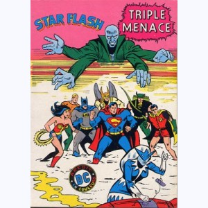 Star Flash : n° 2, Triple menace