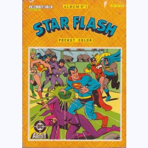 Star Flash (Album) : n° 1PC, Recueil 1 Pocket Color (09, 10)