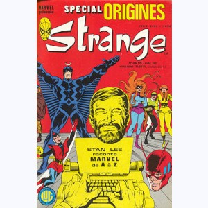 Strange Spécial Origines : n° 208, L'origine des incomparables Inhumains !