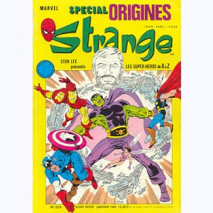 Strange Spécial Origines : n° 229, Iron Man : Drax le destructeur