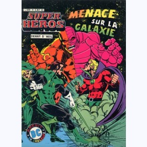 Super Héros : n° 14, Green Lantern : Menace sur la Galaxie