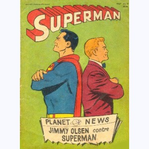 Superman (2ème Série) : n° 7, Jimmy Olsen contre Superman
