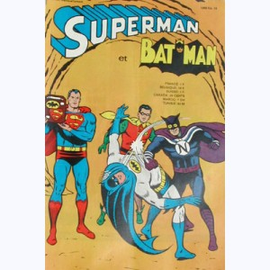 Superman et Bat-Man : n° 10, Invulnérable grace au badge 77