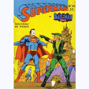 Superman et Bat-Man et Robin : n° 63, S et Green Arrow : Les esclaves sans visage