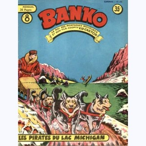 Banko : n° 8, Les pirates du Lac Michigan