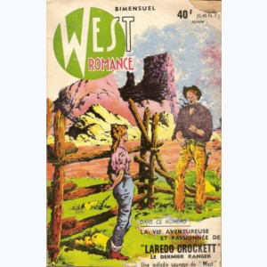 West Romance : n° 1, Laredo Crockett : Mission à San Juan