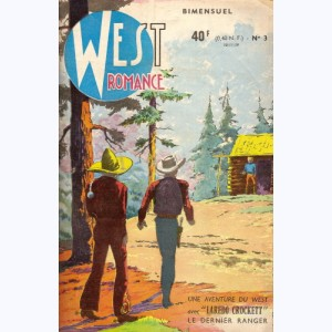 West Romance : n° 3, Laredo Crockett : L'attaque du train