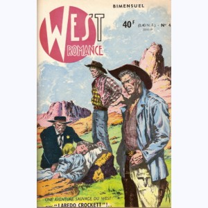 West Romance : n° 4, Laredo Crockett : Jugement à San Antonio