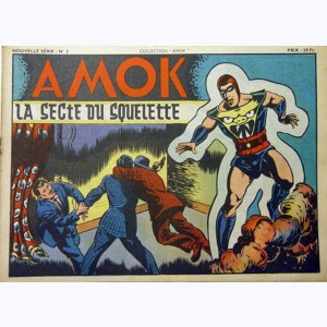 Collection Amok : n° 2, La secte du squelette
