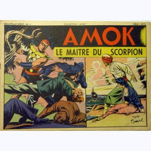 Collection Amok : n° 6, Le maître du scorpion