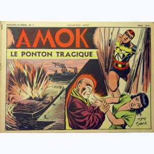 Collection Amok : n° 7, Le ponton tragique