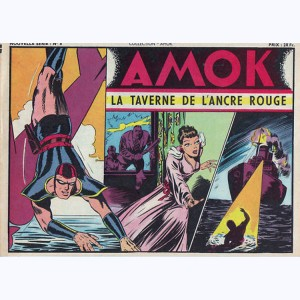 Collection Amok : n° 8, La taverne de l'ancre rouge