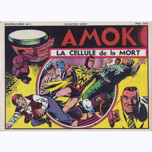 Collection Amok : n° 9, La cellule de la mort