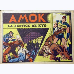 Collection Amok : n° 11, La justice de Kyo