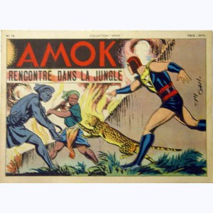 Collection Amok : n° 18, Rencontre dans la jungle