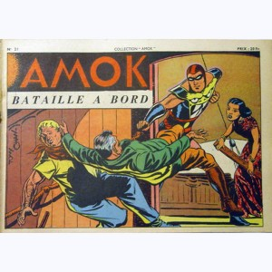 Collection Amok : n° 21, Bataille à bord