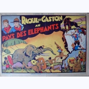 Collection Appel de la Jungle : n° 1, Raoul et Gaston : Au pays des éléphants