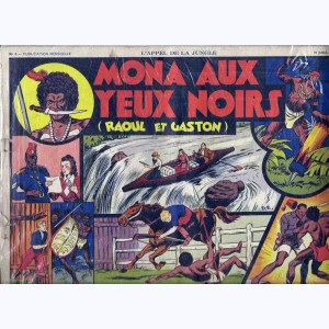 Collection Appel de la Jungle : n° 6, Raoul et Gaston : Mona aux yeux noirs
