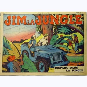 Collection Appel de la Jungle (2ème Série) : n° 4, Jim la Jungle : Disparu dans la jungle