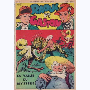 Collection Appel de la Jungle (2ème Série) : n° 15, Raoul et Gaston : La vallée du mystère