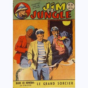 Collection Appel de la Jungle (2ème Série) : n° 24, Jim la Jungle : Le grand sorcier