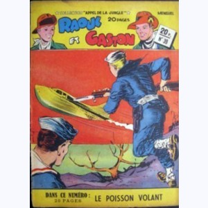 Collection Appel de la Jungle (2ème Série) : n° 39, Raoul et Gaston : Le poisson volant