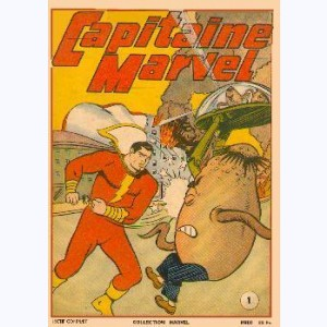 Capitaine Marvel : n° 1, L'invasion extra-planétaire
