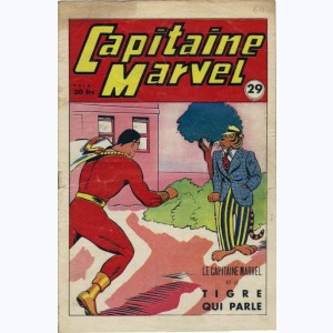 Capitaine Marvel : n° 29, Le Capitaine Marvel et le tigre qui parle
